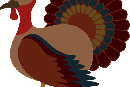 Drawing turkey rock and roll. Download wallpaper n clipart