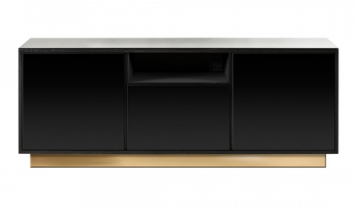 Drawing tv console. Enfilade design red edition