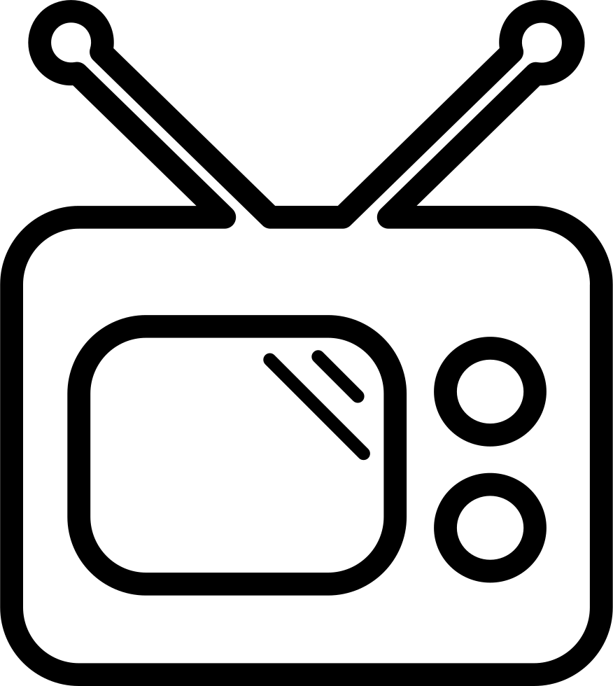 Drawing tv png. Svg icon free download