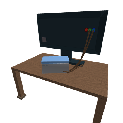 Drawing tv table. Box d house hd