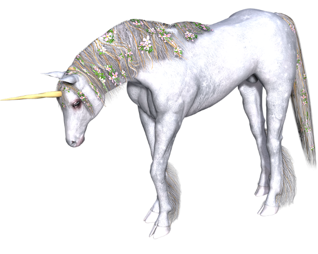 Drawing unicorns mythical creature. Magical creatures crafts and