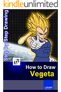 Drawing vegeta step by. How to draw super