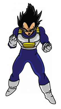 drawing vegeta vageta