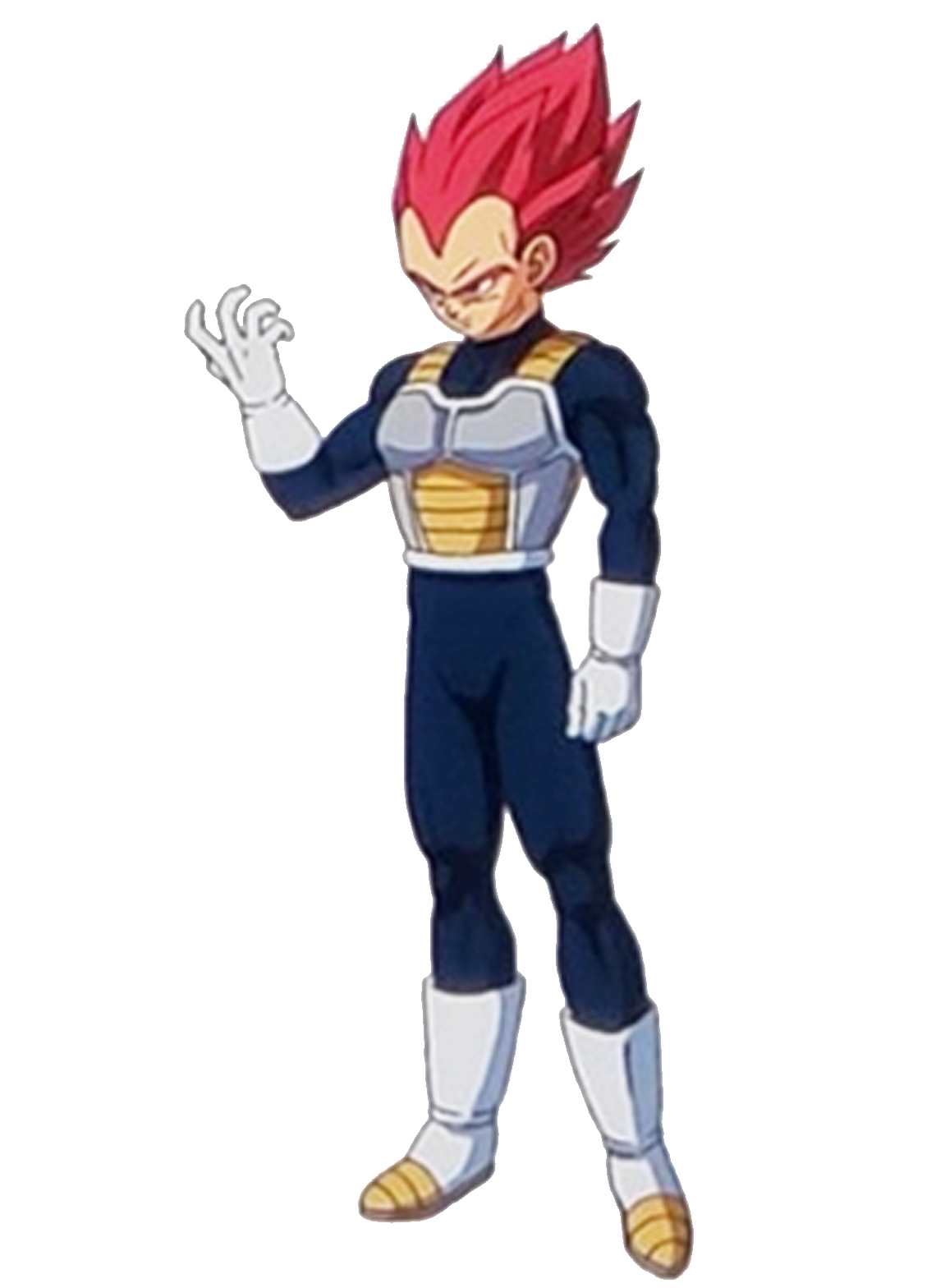 Drawing vegeta ssj. God dragon ball z