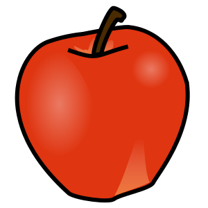 Nursery drawing fruit. Fruits chart paper for