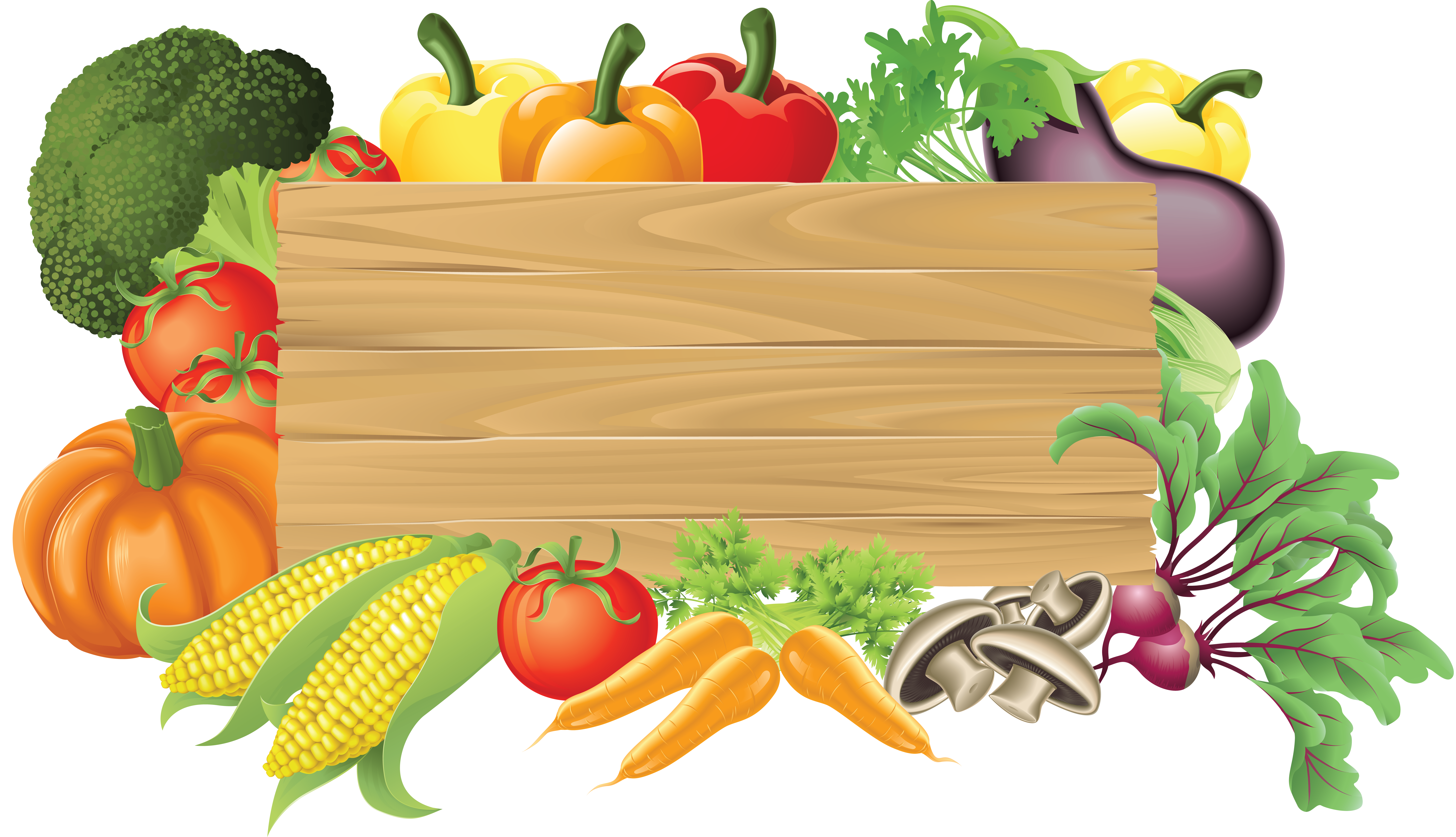 Kitchen garden gardening clip. Vector vegetables fresh vegetable clip art freeuse library
