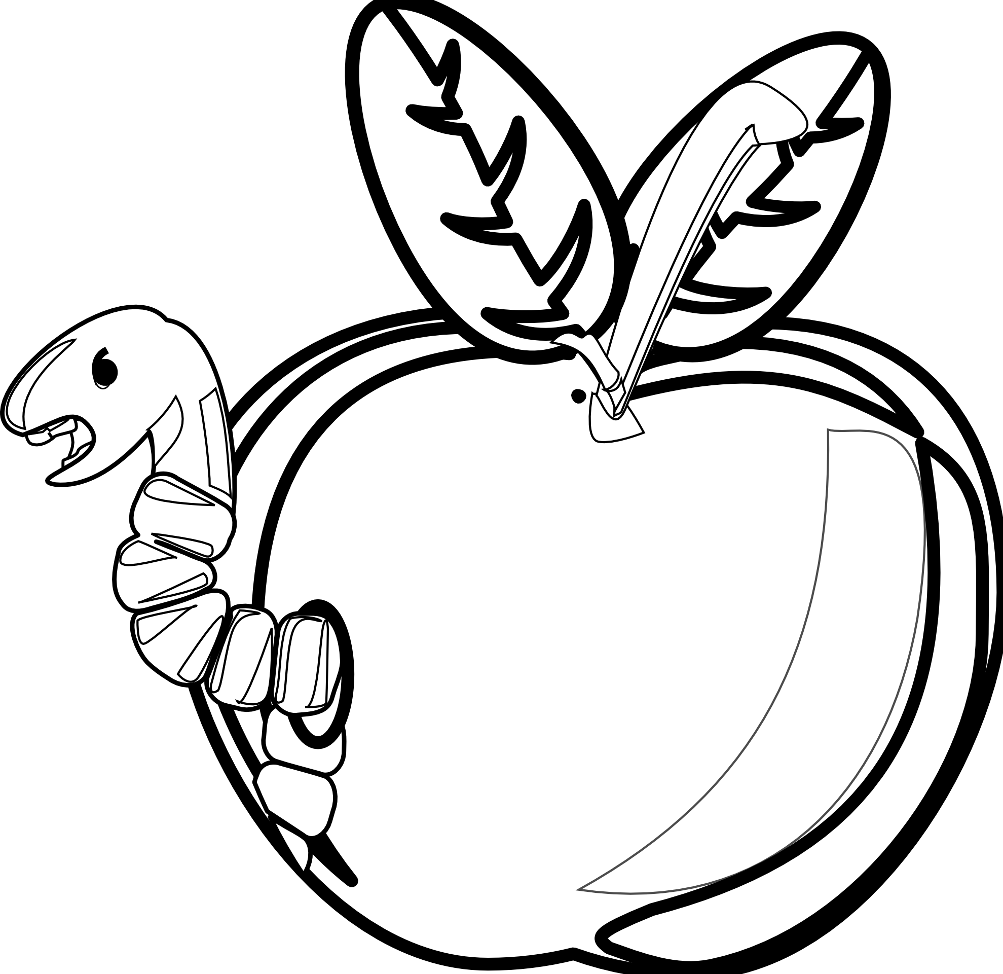 Drawing vegetables black and white. Fruits svg freeuse