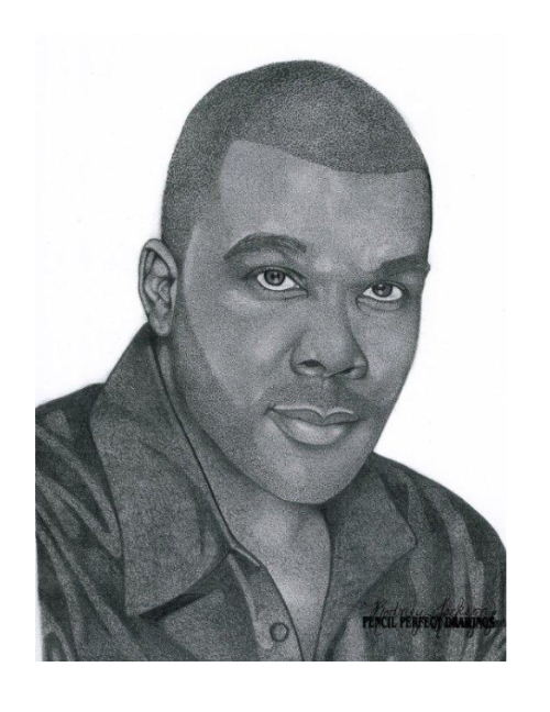 Drawing walkthrough pencil portrait. Tyler perry perfect drawings