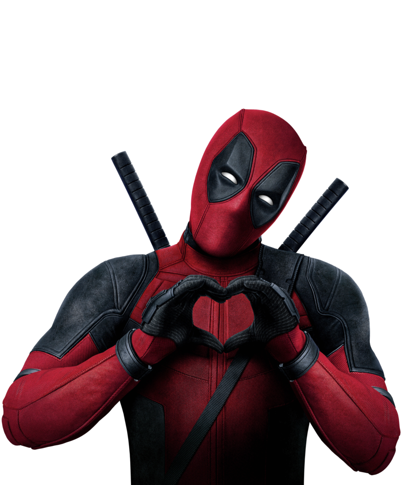 Drawing wallpapers deadpool. Transparent by asthonx projects