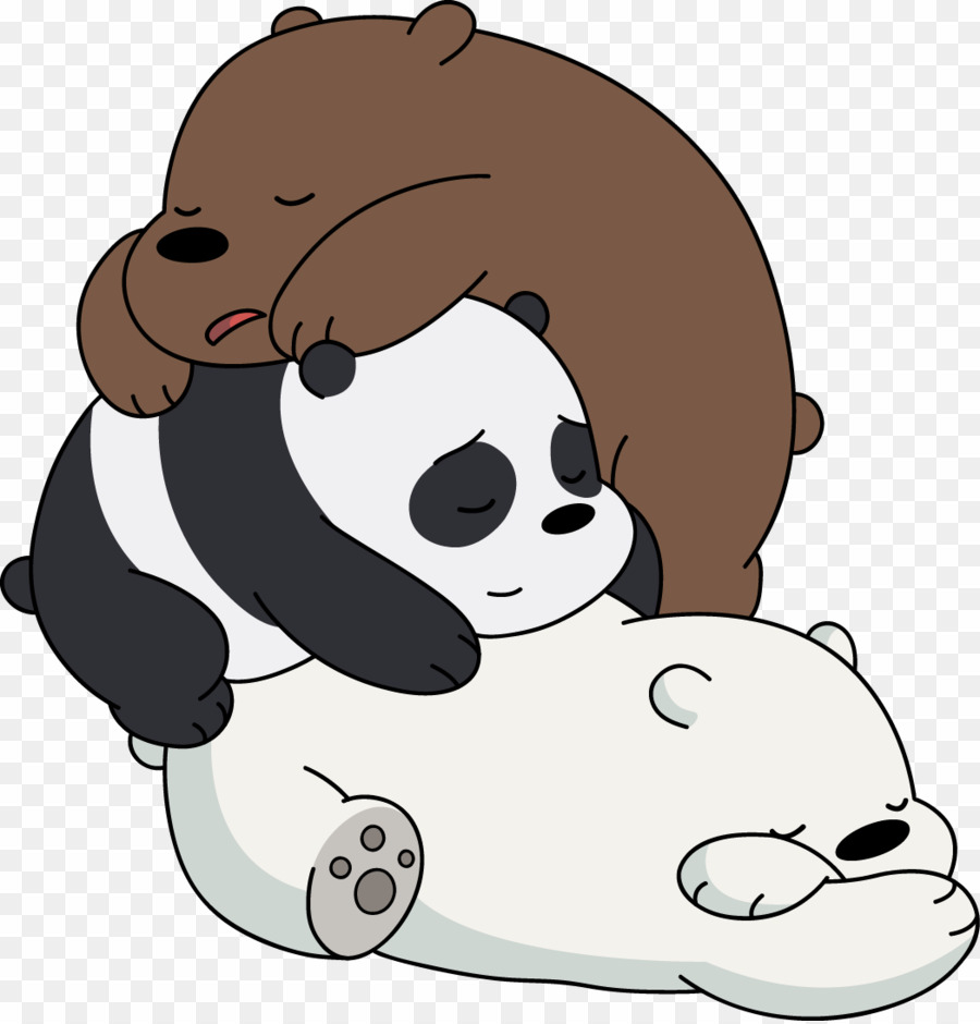 Drawing we bare bears. Baby cute png polar