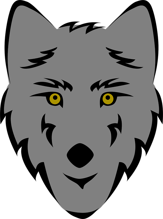 Wolfs drawing background. Image result for simple