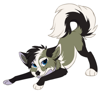 Drawing wolfs cute. Commission xwhitedreamsx by kamirah