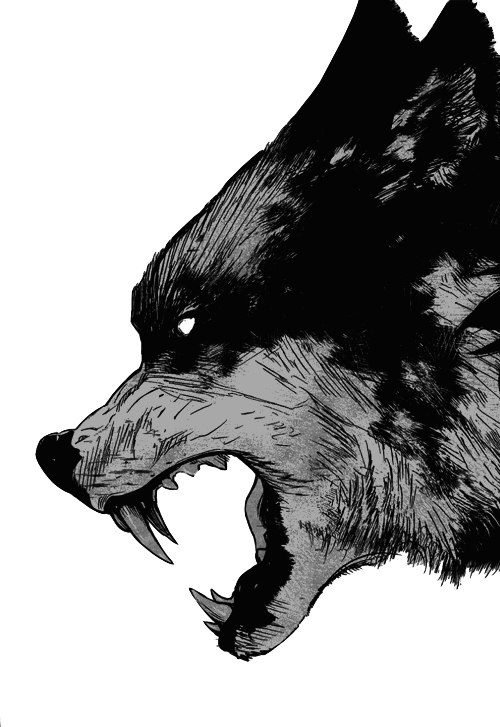 wolves transparent ghost