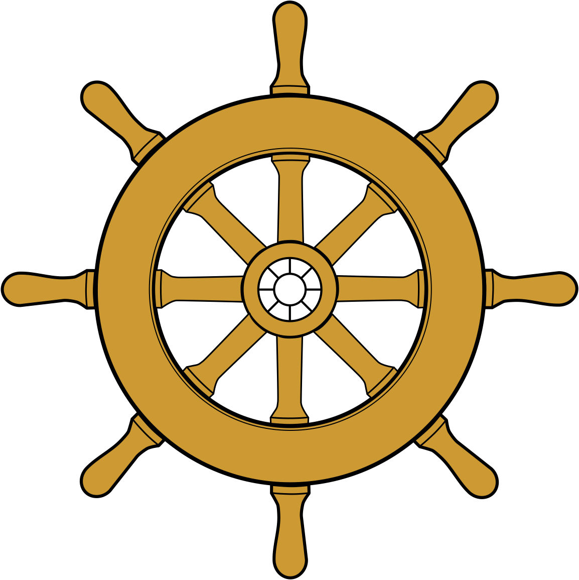 Drawing wheel ships. Ship steering at getdrawings