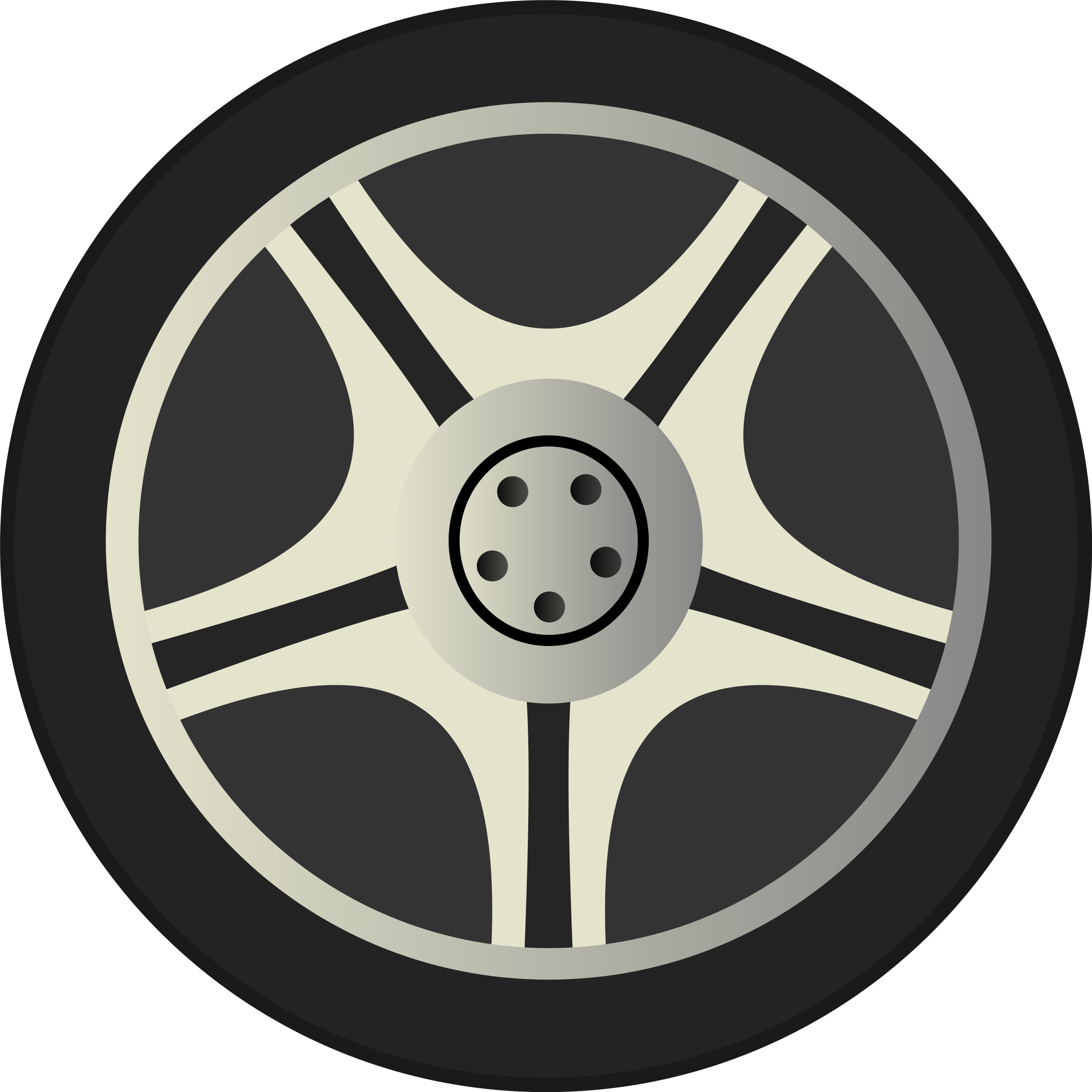 Drawing wheels animated car. Collection of without