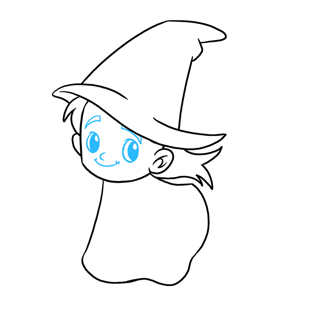 Drawing witch draw something. How to a really