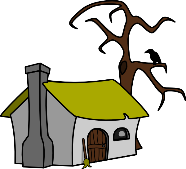 Drawing witch animated. Collection of free cottaged