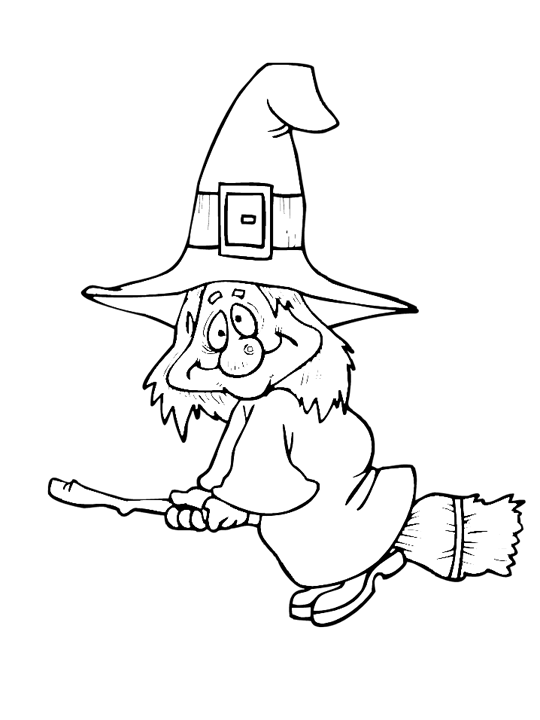Drawing witches clipart. Vintage halloween sheet music