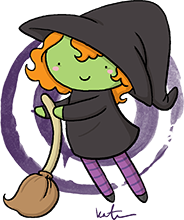 Drawing witch cute. Katie cook comic con