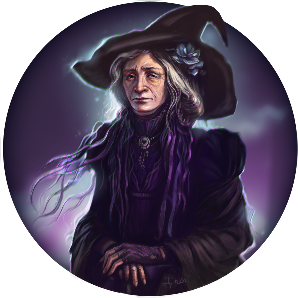 Drawing witch old. By dina tukhvatulina deviantart