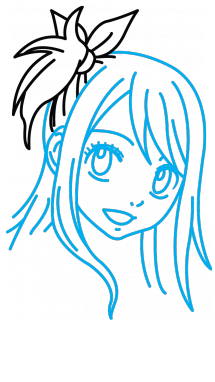 Fairytail drawing easy. How to draw lucy