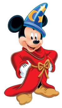 Drawing wizard mickey mouse. Sorcerermick png pixels pinterest