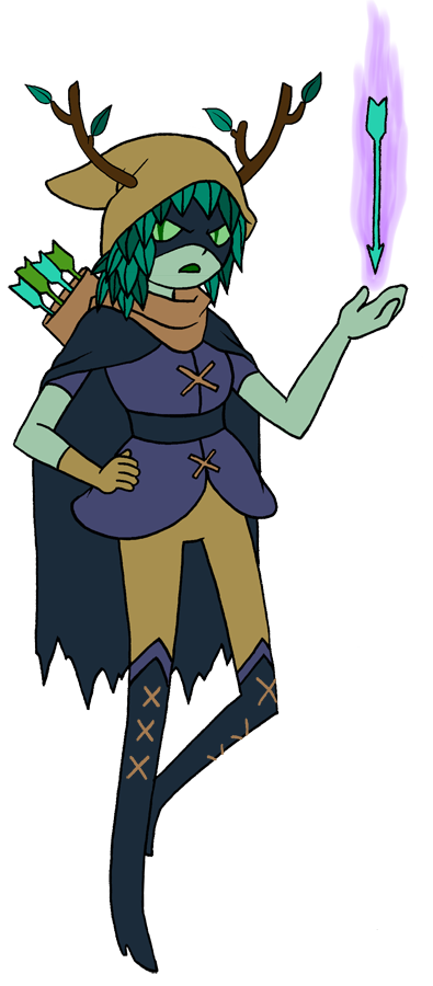 Drawing wizards old school. Adventure time huntress wizard