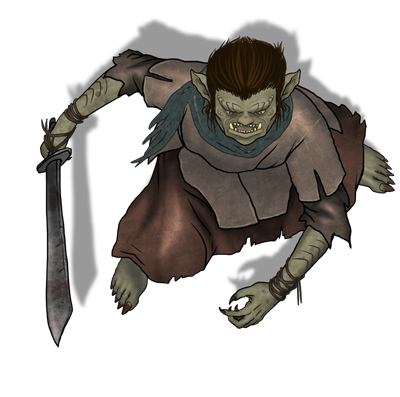 Giants drawing orc. Thug search results syncrpg