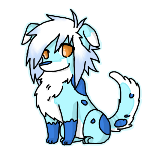 Drawing wolfs cute. Easy baby arctic wolf