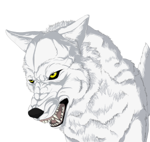 Darky wolf bailey deviantart. Drawing wolfs profile image black and white stock