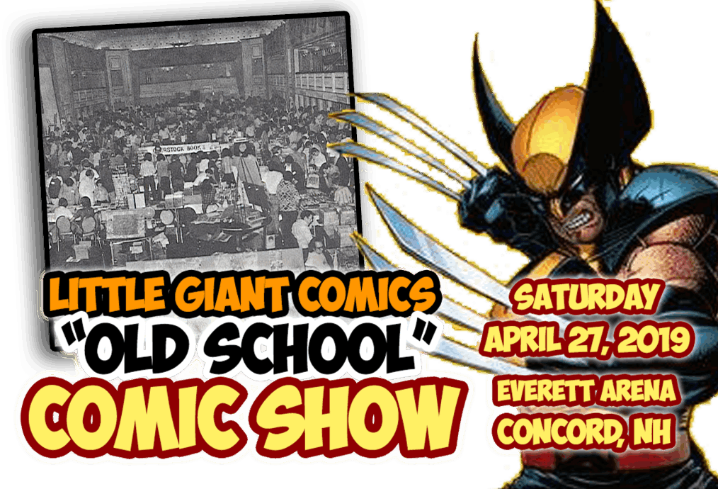 About the little giant. Drawing wolverine old school banner royalty free library