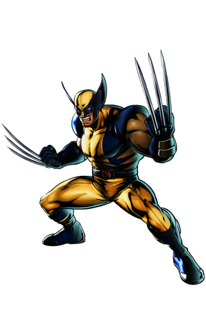 Fighter drawing superhero. Injustice guest wolverine by