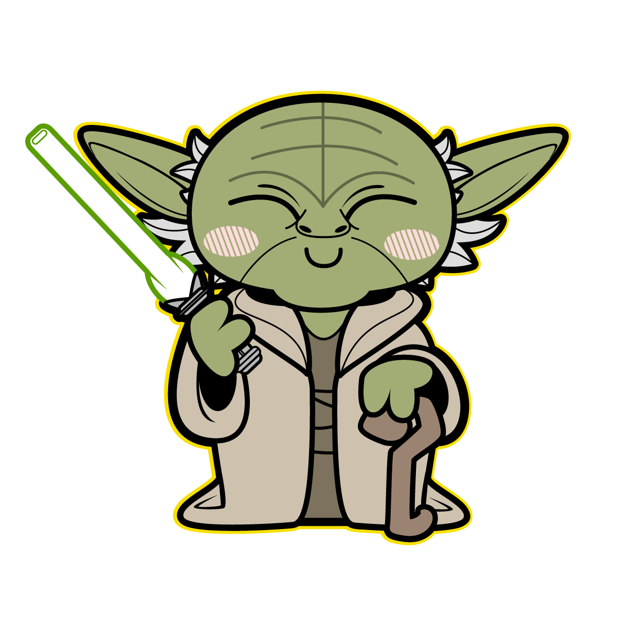drawing yoda sketches