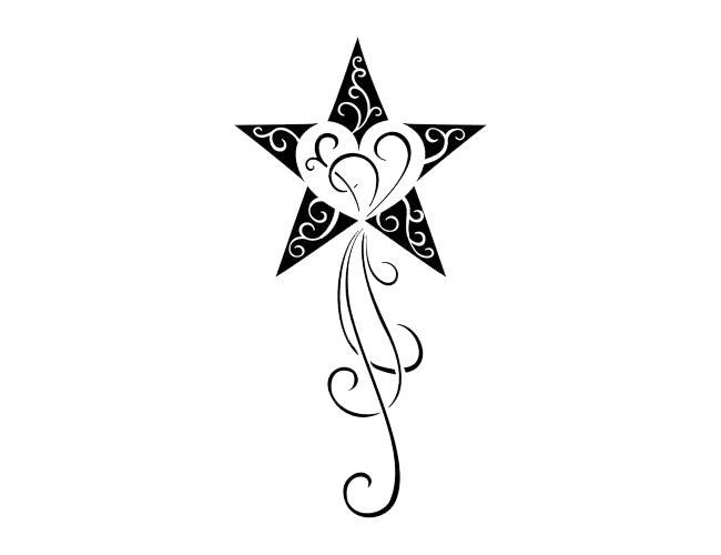 Tribal transparent star. Tattoos png images pluspng