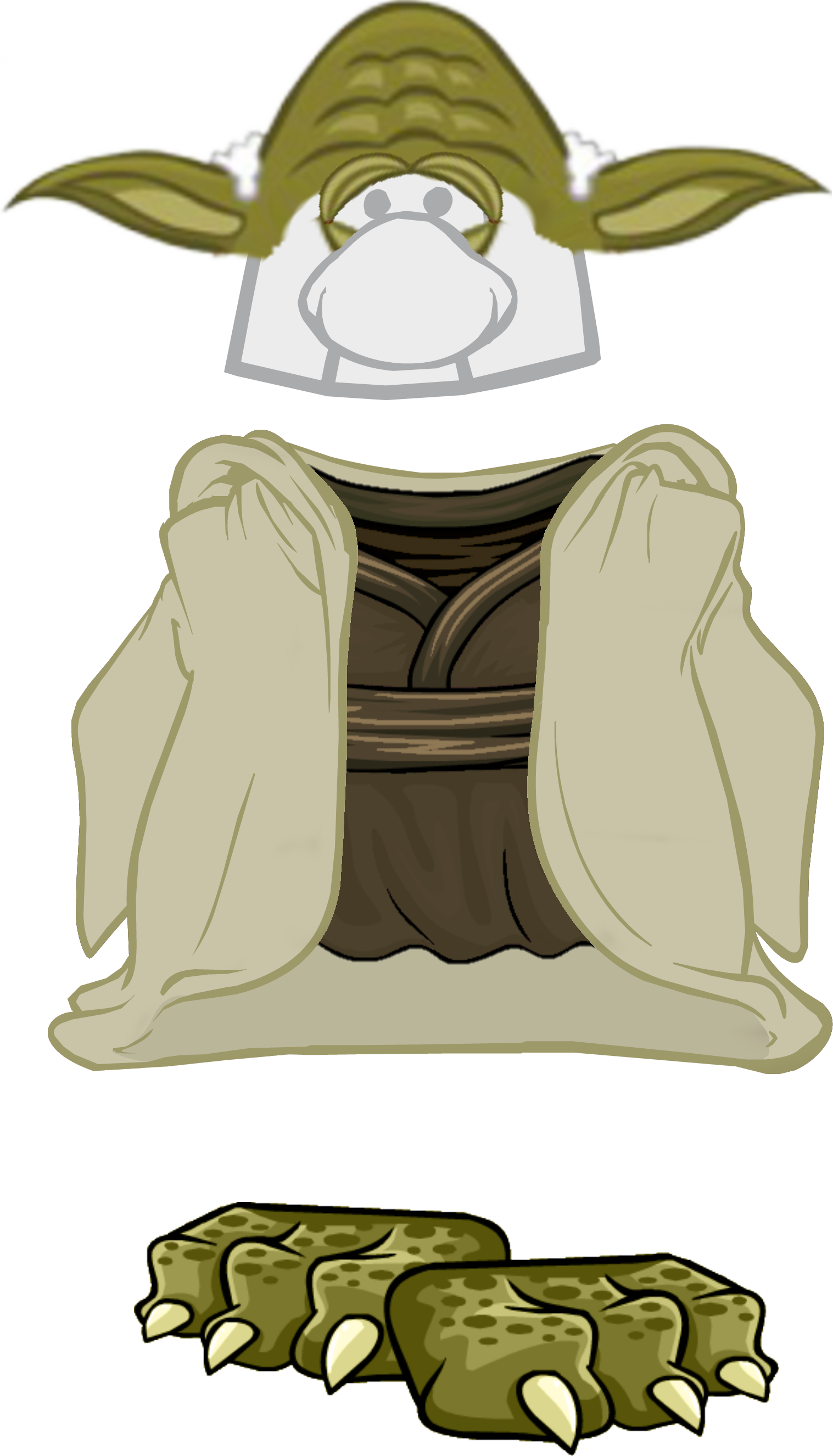 Drawing yoda trace. Clipart library book