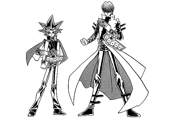 Gi drawing black and white. File dark yugi kaiba