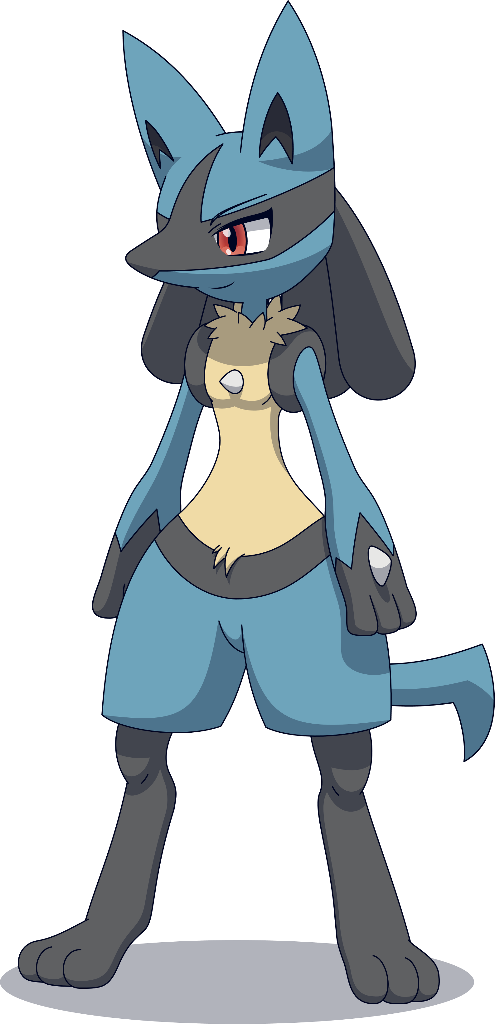Drawings of lucario png. Reyn the by zacatron