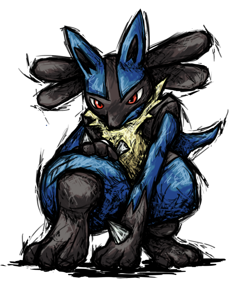 Drawings of lucario png. Smash striker by tails