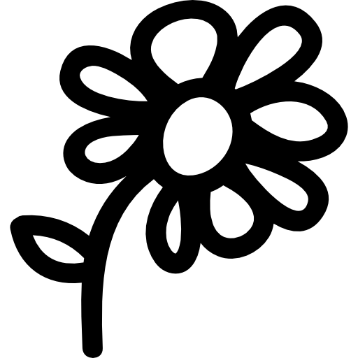 Flower symbol free nature. Hand drawn flowers png banner free download