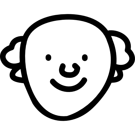 Drawn smiley face png. Old man hand free