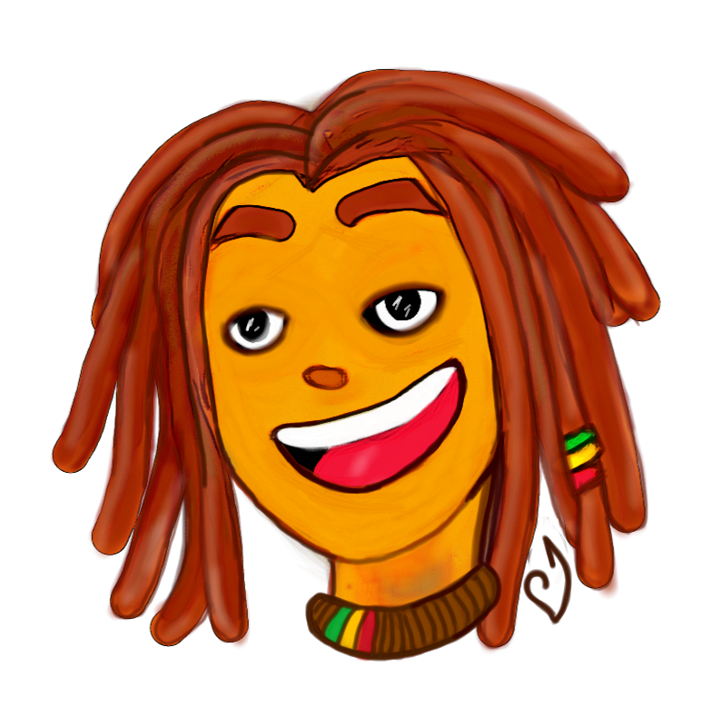 dreadlock vector