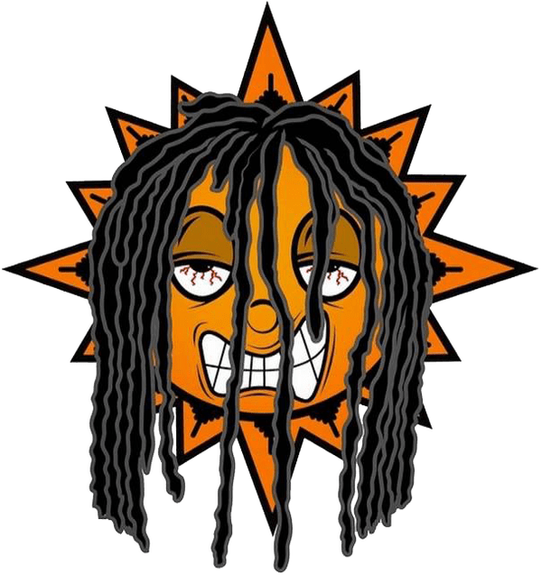 Dreads vector clip art. Cartoon characters with