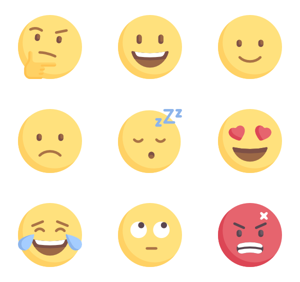 Dreads vector emoji. Icon packs svg