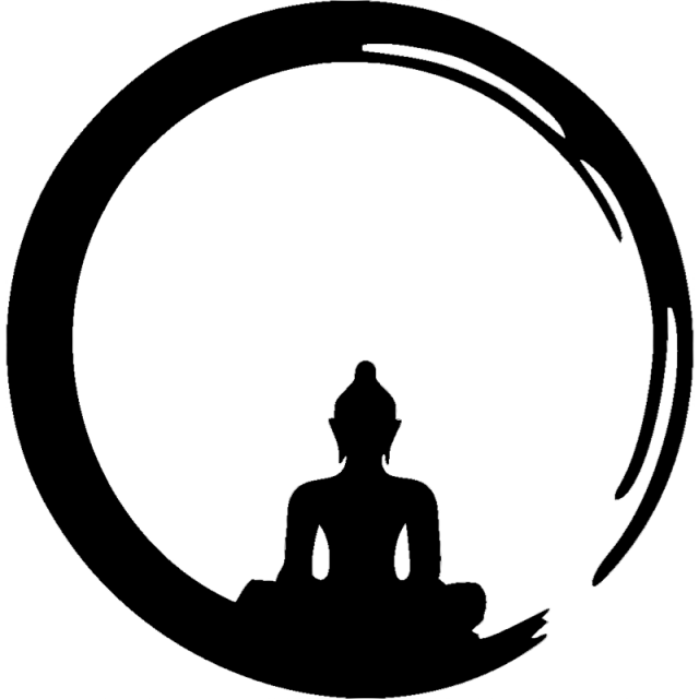 Dreads vector silhouette. The best free meditation