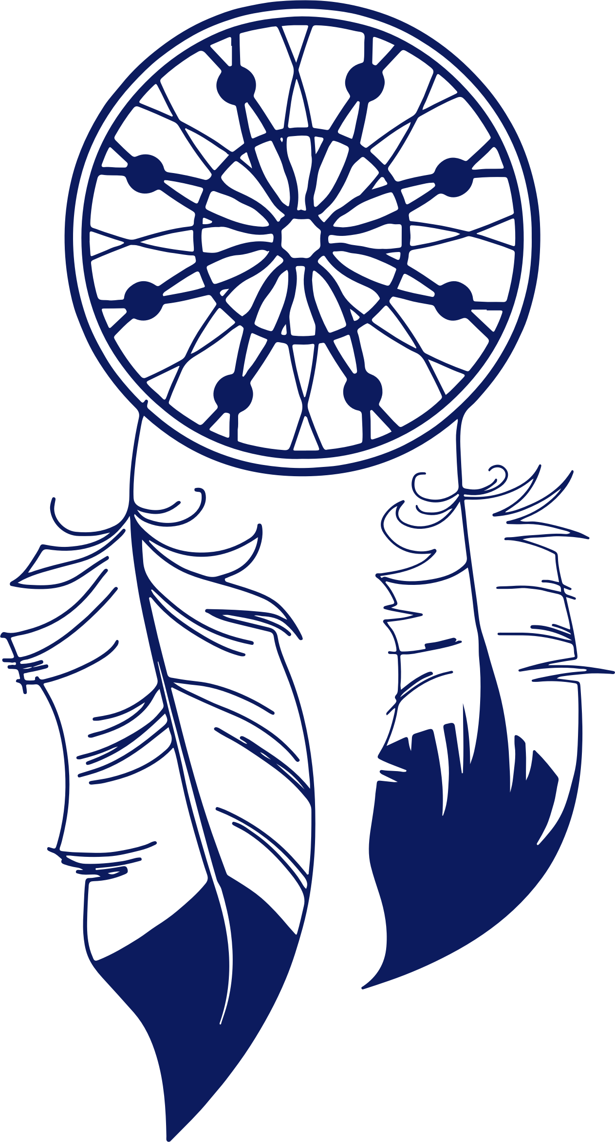 Dream catcher silhouette png. By gdj cricuts silhouettes