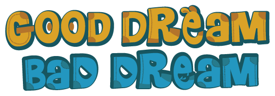 Dream clipart bad dream. Illustrated fantasy story book
