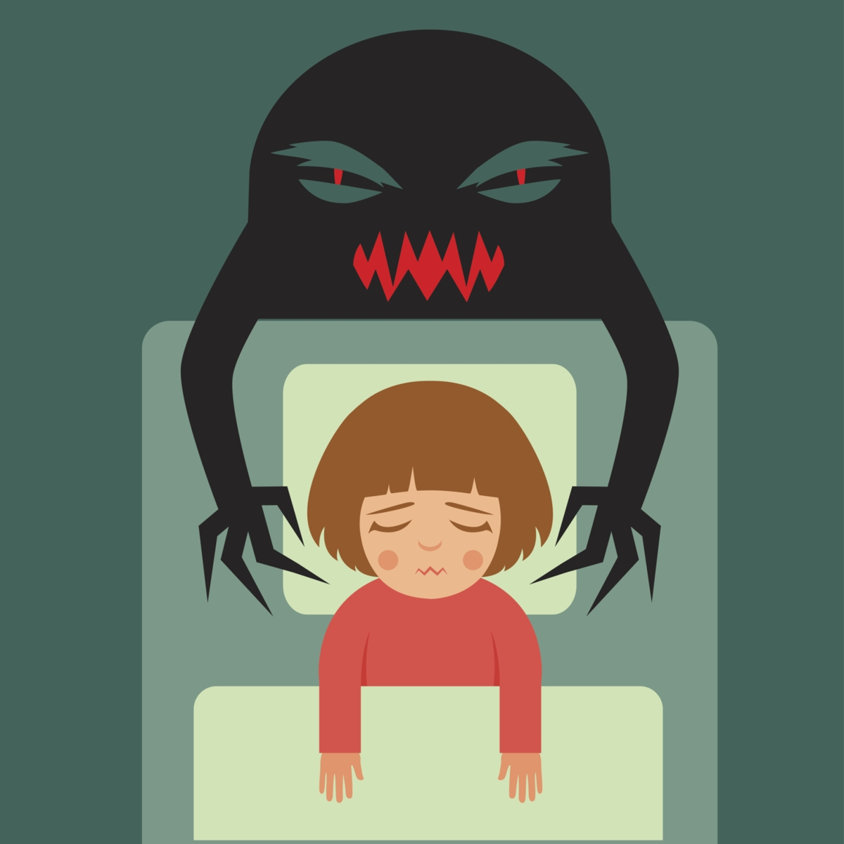 Fear clipart bad dream. Visions from god what
