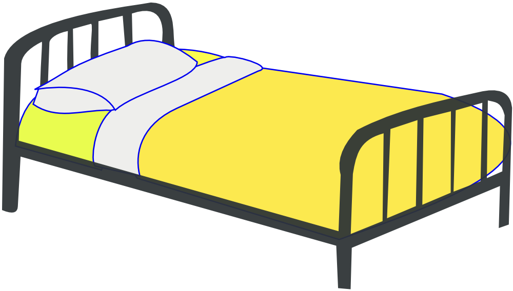 dream clipart bed