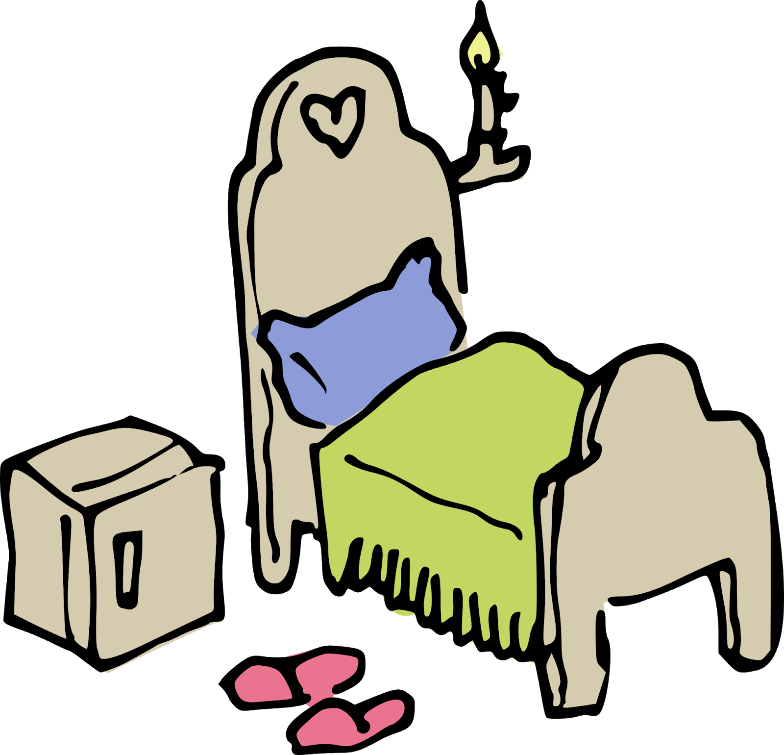 Dream clipart bed. Makeup is delicious how