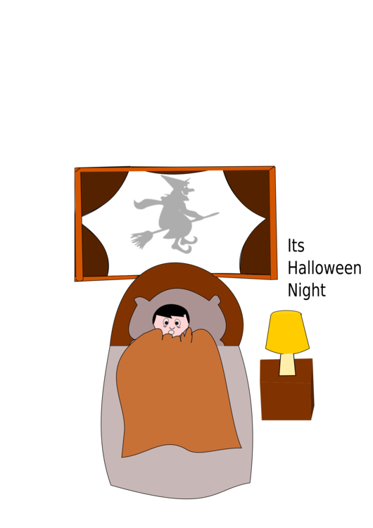 Night clipart dark night. Halloween cartoon dream free